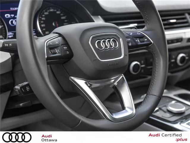 2018 Audi Q7 3.0T Komfort (Stk: 51502) in Ottawa - Image 19 of 19