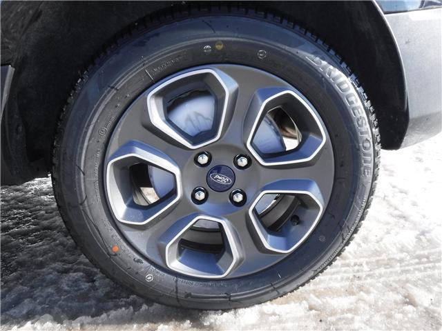 2019 Ford EcoSport S (Stk: 19-97) in Kapuskasing - Image 10 of 10