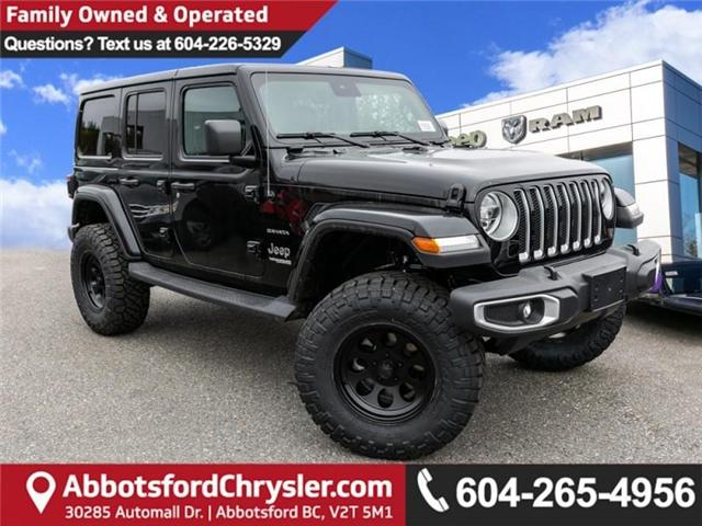 2019 Jeep Wrangler Unlimited Sahara (Stk: K544028) in Abbotsford - Image 1 of 25