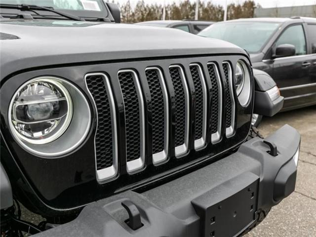 2019 Jeep Wrangler Unlimited Sahara (Stk: K544028) in Abbotsford - Image 10 of 25