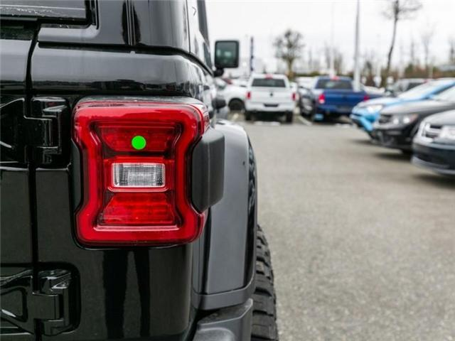 2019 Jeep Wrangler Unlimited Sahara (Stk: K544028) in Abbotsford - Image 11 of 25