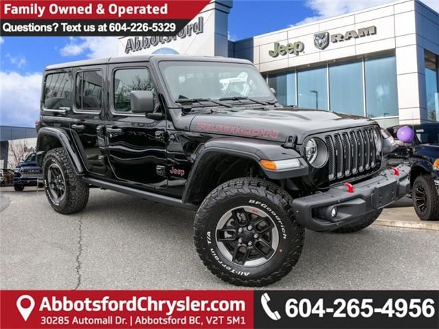 2019 Jeep Wrangler Unlimited Rubicon (Stk: K549476) in Abbotsford - Image 1 of 27