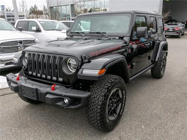 2019 Jeep Wrangler Unlimited Rubicon (Stk: K549476) in Abbotsford - Image 3 of 27