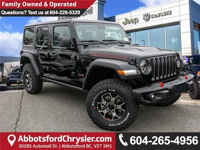 2019 Jeep Wrangler Unlimited Rubicon (Stk: K589518) in Abbotsford - Image 1 of 28