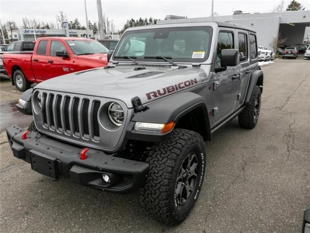 2019 Jeep Wrangler Unlimited Rubicon (Stk: K589517) in Abbotsford - Image 3 of 27