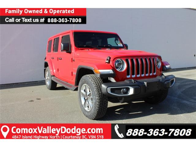 2019 Jeep Wrangler Unlimited Sahara (Stk: W575025) in Courtenay - Image 1 of 30