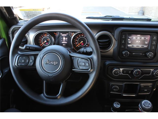 2019 Jeep Wrangler Sport (Stk: W573968) in Courtenay - Image 10 of 28