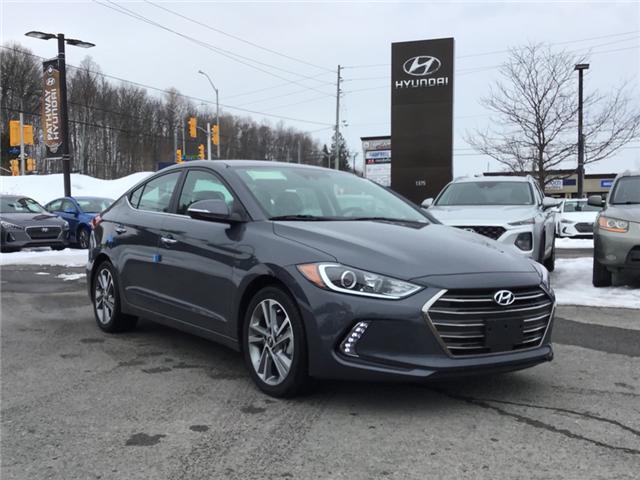 2018 Hyundai Elantra Limited (Stk: R86411) in Ottawa - Image 1 of 11
