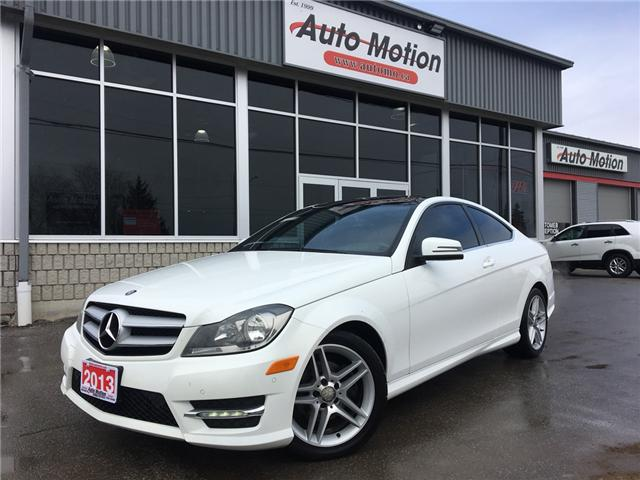 2013 Mercedes-Benz C-Class Base (Stk: T19154) in Chatham - Image 1 of 18
