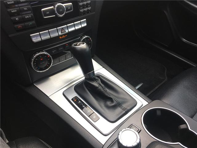 2013 Mercedes-Benz C-Class Base (Stk: T19154) in Chatham - Image 14 of 18