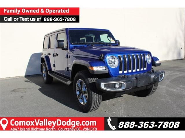2019 Jeep Wrangler Unlimited Sahara (Stk: W578680) in Courtenay - Image 1 of 30