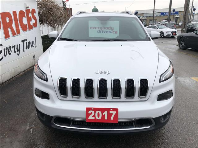2017 Jeep Cherokee Limited (Stk: 19-155) in Oshawa - Image 2 of 19