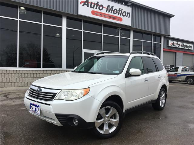 2010 Subaru Forester  (Stk: 19231) in Chatham - Image 1 of 19