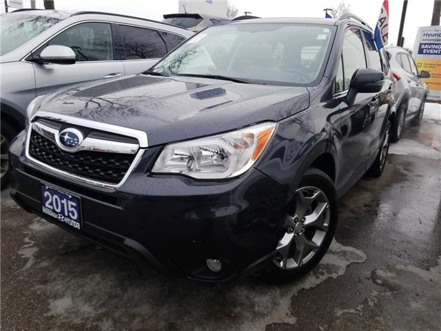 2015 Subaru Forester 2.5i Limited Package (Stk: OP10181) in Mississauga - Image 1 of 19