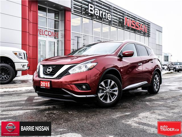 2015 Nissan Murano SL (Stk: P4537) in Barrie - Image 1 of 30