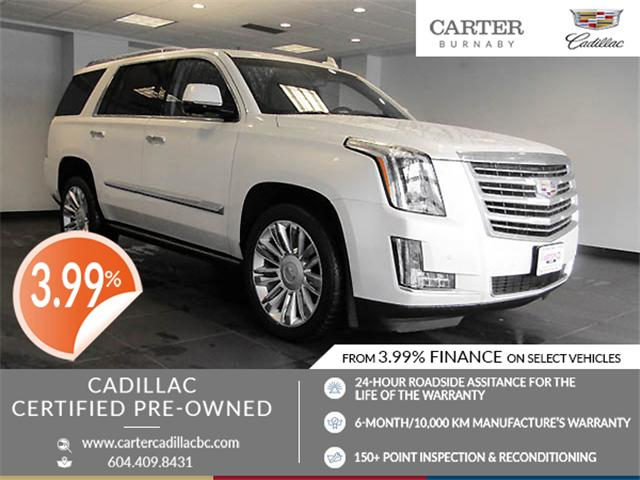 2015 Cadillac Escalade Platinum (Stk: P9-57630) in Burnaby - Image 1 of 26