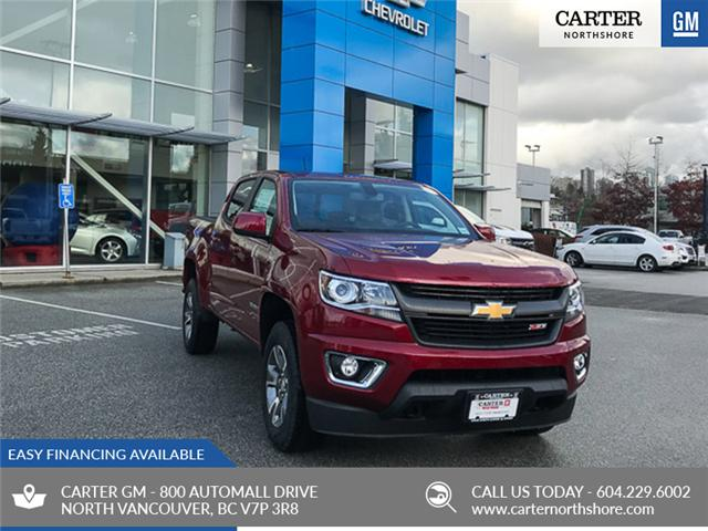 2019 Chevrolet Colorado Z71 (Stk: 9CL58110) in North Vancouver - Image 1 of 13