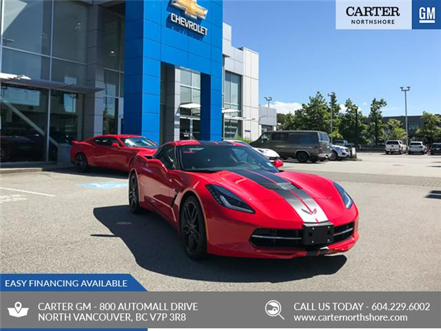 2019 Chevrolet Corvette Stingray Z51 (Stk: 9CV51740) in North Vancouver - Image 1 of 7