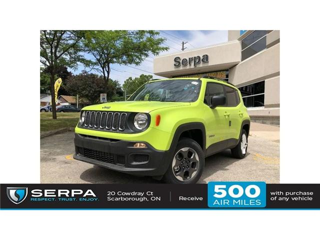 2018 Jeep Renegade Sport (Stk: 184093) in Toronto - Image 1 of 17