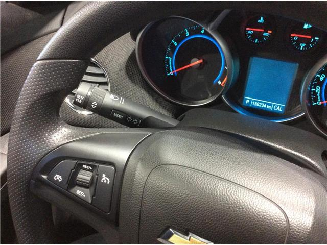 2012 Chevrolet Cruze LT Turbo (Stk: 18310A) in Montmagny - Image 9 of 23