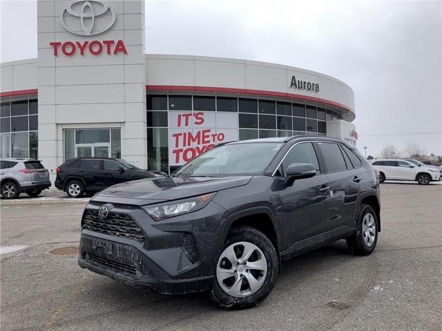 2019 Toyota RAV4 LE (Stk: 30635) in Aurora - Image 1 of 16