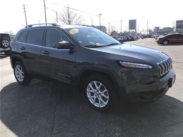 2017 Jeep Cherokee North (Stk: 19592A) in Windsor - Image 1 of 13