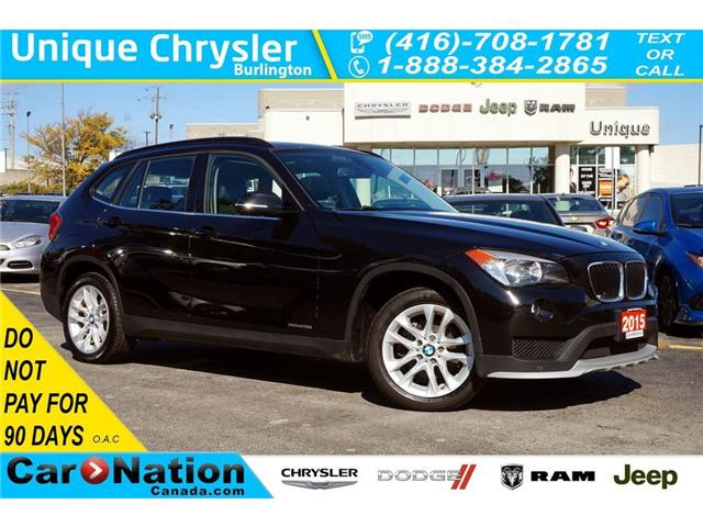 2015 BMW X1 xDrive28i| PREMIUM| PANORAMIC SUNROOF| HTD SEATS (Stk: DRD1315) in Burlington - Image 1 of 30