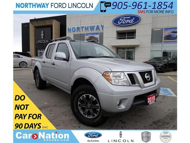 2018 Nissan Frontier PRO-4X | NAV | PWR HTD LEATHER | SUN ROOF | (Stk: DR69) in Brantford - Image 1 of 30