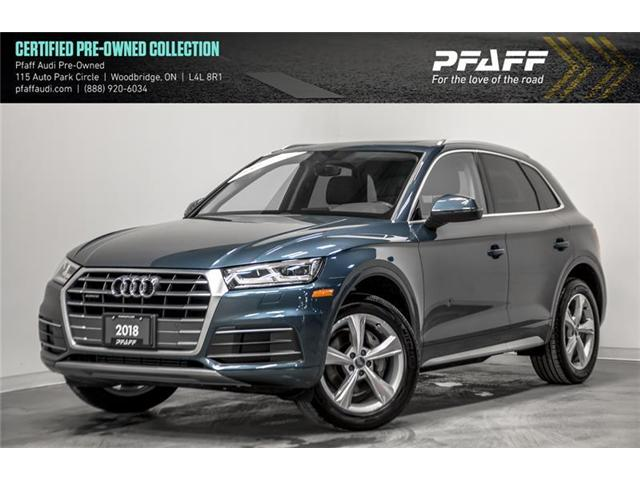 2018 Audi Q5 2.0T Progressiv (Stk: C6524) in Vaughan - Image 1 of 21