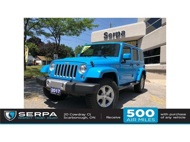 2017 Jeep Wrangler Unlimited Sahara (Stk: 174089) in Toronto - Image 1 of 20