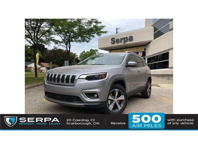 2019 Jeep Cherokee Limited (Stk: 194013) in Toronto - Image 1 of 21