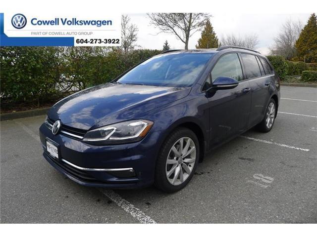 2018 Volkswagen Golf SportWagen 1.8 TSI Comfortline (Stk: V1857127V) in Richmond - Image 1 of 19