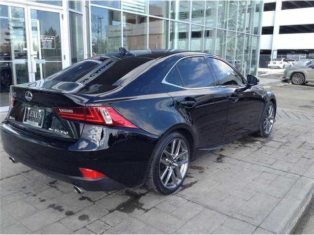 2015 Lexus IS 350 Base (Stk: 190435A) in Calgary - Image 7 of 10