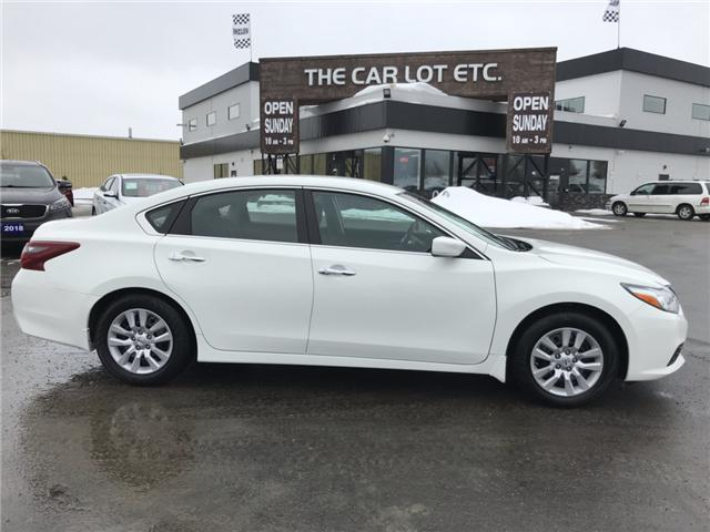 2018 Nissan Altima 2.5 S (Stk: 19107) in Sudbury - Image 1 of 15