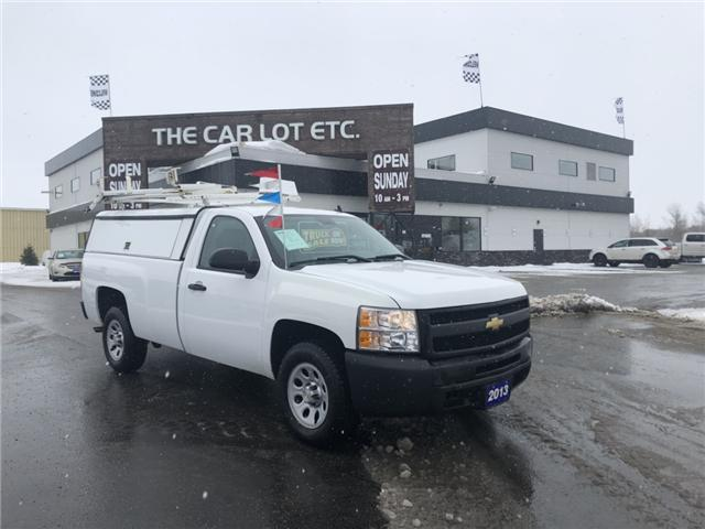 2013 Chevrolet Silverado 1500 WT (Stk: 18127) in Sudbury - Image 1 of 11