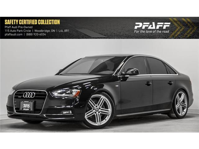 2015 Audi A4 2.0T Progressiv (Stk: C6604) in Woodbridge - Image 1 of 22