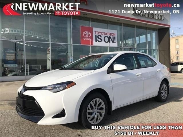 2019 Toyota Corolla LE (Stk: 34024) in Newmarket - Image 1 of 17