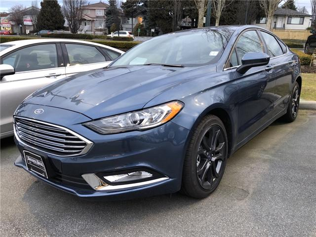 2018 Ford Fusion SE (Stk: 18514) in Vancouver - Image 1 of 9