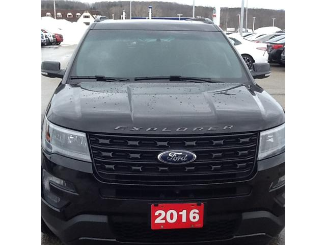 2016 Ford Explorer Sport (Stk: 191931a) in Owen Sound - Image 1 of 4