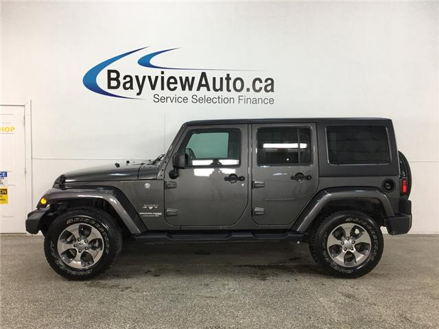 2018 Jeep Wrangler JK Unlimited Sahara (Stk: 34534W) in Belleville - Image 1 of 24
