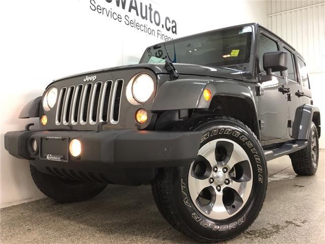2018 Jeep Wrangler JK Unlimited Sahara (Stk: 34534W) in Belleville - Image 2 of 24