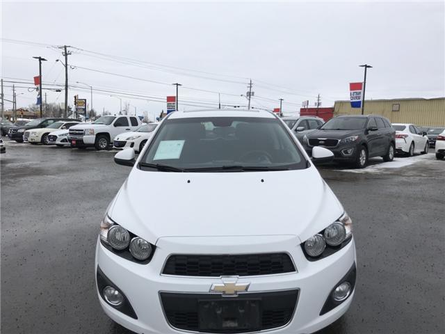 2014 Chevrolet Sonic LT Auto (Stk: 17672-LR) in Sudbury - Image 2 of 9