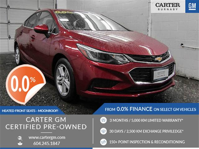 2017 Chevrolet Cruze LT Auto (Stk: J7-52651) in Burnaby - Image 1 of 23