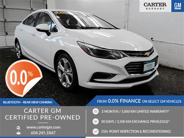 2018 Chevrolet Cruze Premier Auto (Stk: P9-56330) in Burnaby - Image 1 of 24
