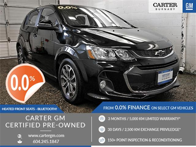 2018 Chevrolet Sonic LT Auto (Stk: P9-57170) in Burnaby - Image 1 of 25