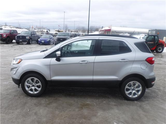 2019 Ford EcoSport SE (Stk: 19-98) in Kapuskasing - Image 3 of 10