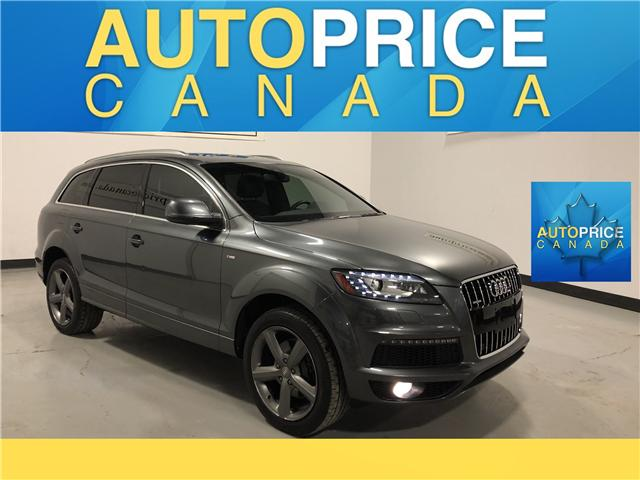 2015 Audi Q7 3.0T Sport (Stk: W0089) in Mississauga - Image 1 of 28