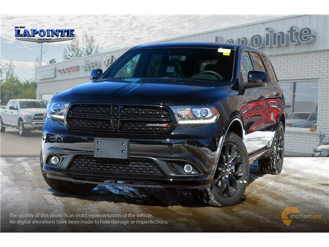 2019 Dodge Durango SXT (Stk: 19185) in Pembroke - Image 1 of 20