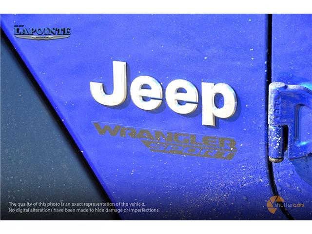 2019 Jeep Wrangler Sport (Stk: 19230) in Pembroke - Image 5 of 20