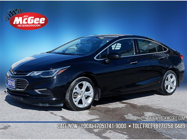 2016 Chevrolet Cruze Premier Auto (Stk: 19294A) in Peterborough - Image 1 of 20